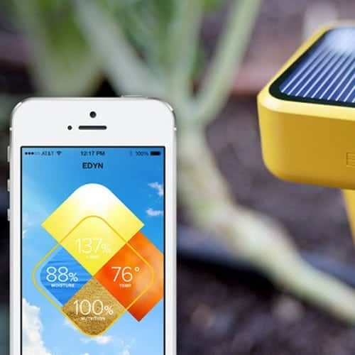 Smart Home garden sprinkler