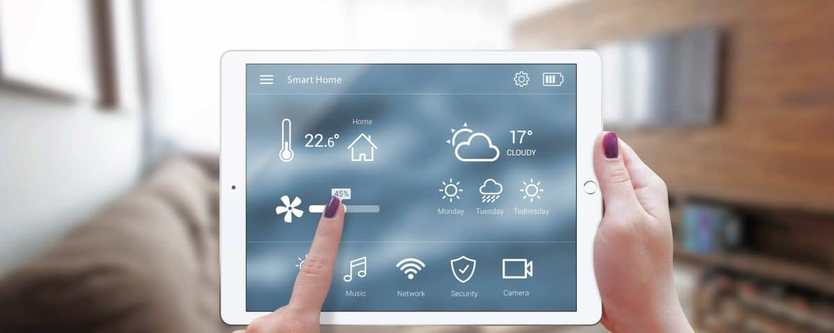 smart-home-automation tablet