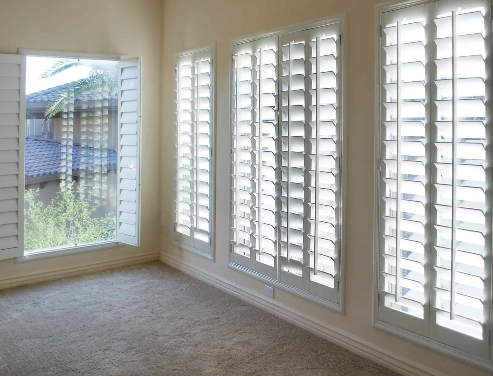 window treatment shutters