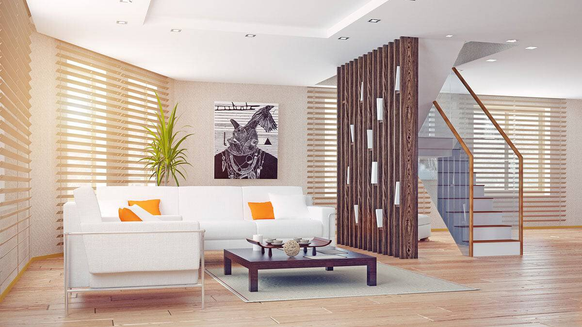 woden-shades-in-sunny-living-room