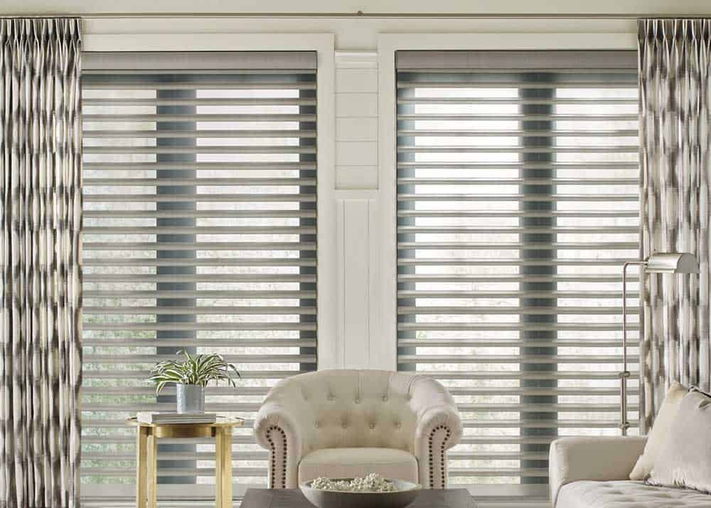 designer shutters and drapery