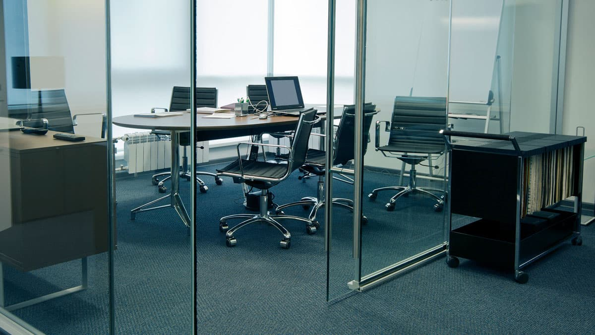 modern commercial office window shades