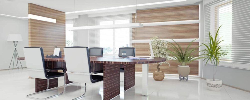 Commercial office Window Shades St Petersburg FL